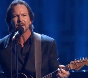 Eddie Vedder | 22/10/2017 John F. Kennedy Center for The Performing Arts, Washington D.C.