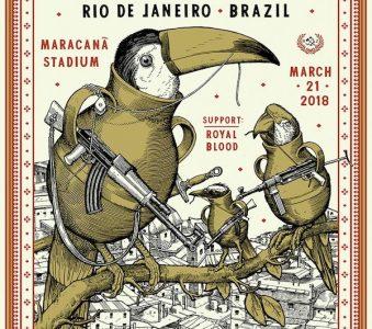 Pearl Jam   21/3/2018 Maracanã Stadium, Rio de Janeiro, Brasil