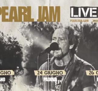 Pearl Jam: Annunciato il tour europeo 2018!