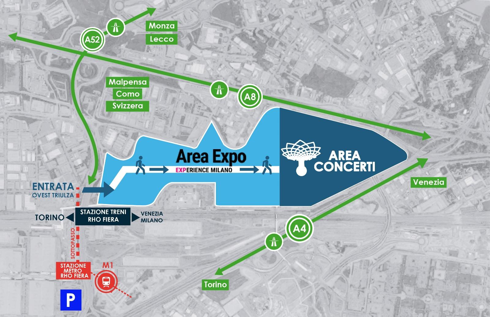Guida EXPO Milano 2015: come arrivare? - 2020