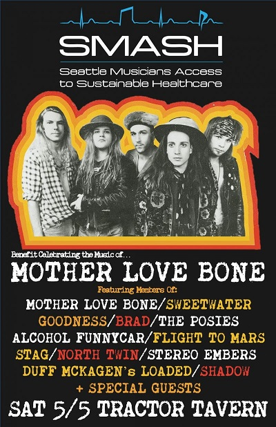 Mother Love Benefit Tribute Concert   05/05/2018 Neptune Theatre, Seattle, WA