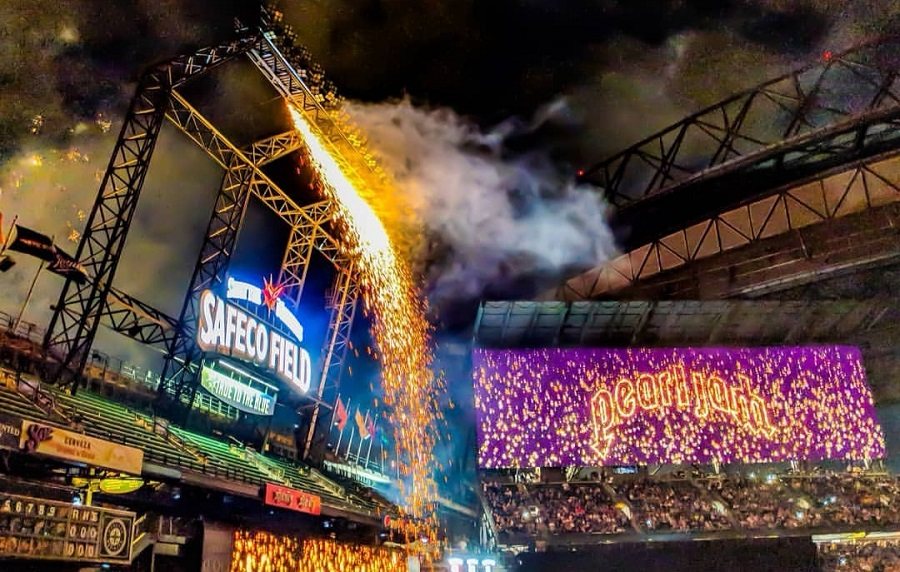 Pearl Jam Night at Seattle's Safeco Field