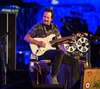 Eddie Vedder   27/06/2017 Teatro Antico, Taormina (Sicily), Italy