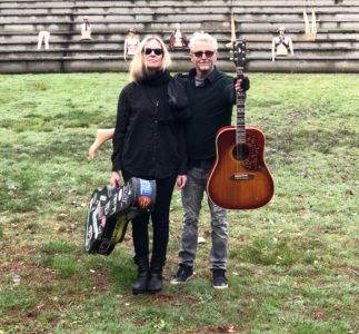 Infinite Color & Sound: A new project by Mike McCready and Kate Neckel
