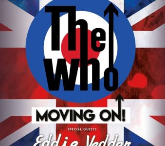 Eddie Vedder and The Who live at Wembley Stadium 2019
