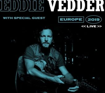 Eddie Vedder announces 2019 European tour dates
