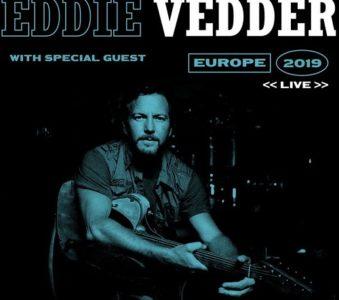 Eddie Vedder: annunciate le date del tour europeo 2019