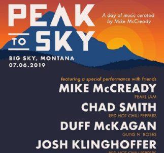Peak To Sky, due giorni di musica curati da Mike McCready