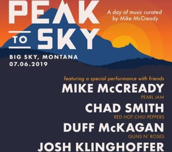 Peak To Sky, due giorni di musica curati da Mike McCready