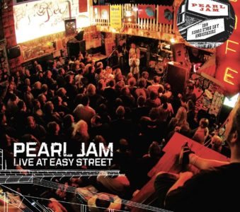 Pearl Jam: Live at Easy Street 10C edition color vinyl