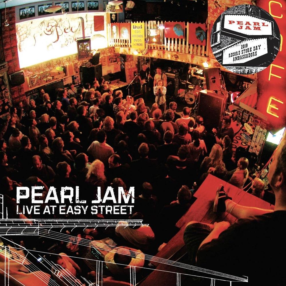 Pearl Jam: Live at Easy Street in vendita sul Ten Club