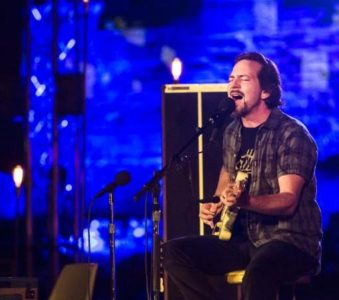 Why is Eddie Vedder going to play Firenze Rocks again?