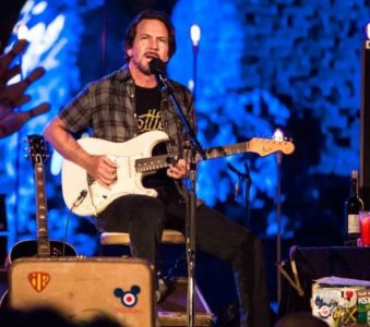 Eddie Vedder at Firenze Rocks 2019: full line up revealed