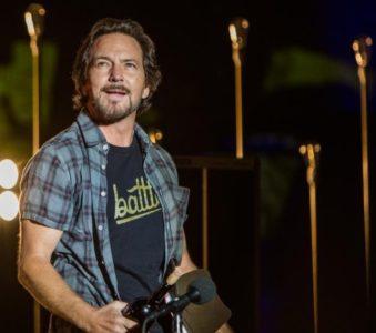 Eddie Vedder has kicked off his European Tour