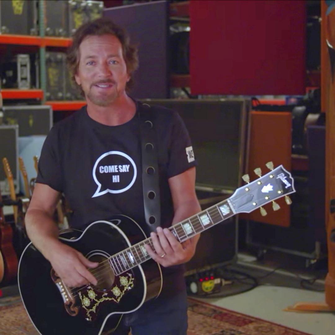 Eddie Vedder   09/08/2019 The WE Day TV Special (ABC)