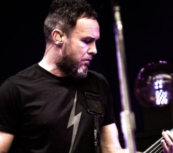 Jeff Ament attend Guns N' Roses show in Austin