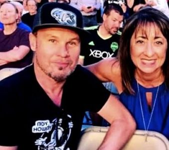 Pearl Jam attend The Rolling Stones show in Seattle