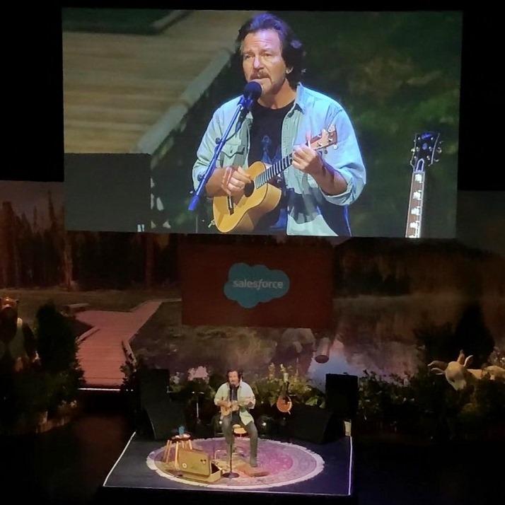 Eddie Vedder | 20/11/2019 Yerba Buena Center for the Arts, San Francisco, CA