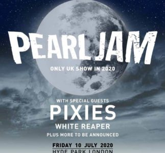 Pearl Jam: 2020 European Tour opening acts