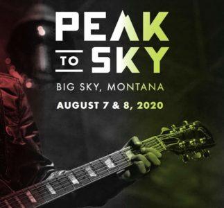 Nel 2020 torna Peak To Sky, il festival di Mike McCready