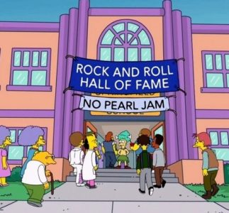 The Simpsons mentions Pearl Jam