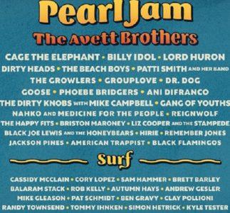 I Pearl Jam sono gli headliner del Sea.Hear.Now. Festival