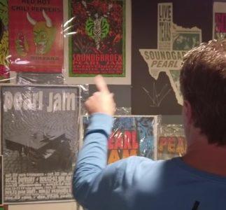 Il video della collezione di uno dei più grandi fan dei Pearl Jam