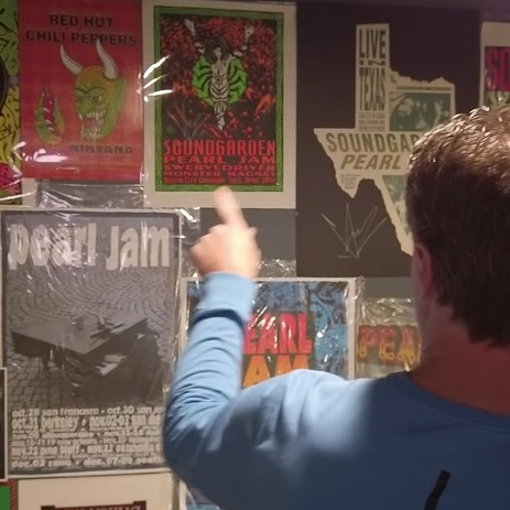Meet the ultimate Pearl Jam collector