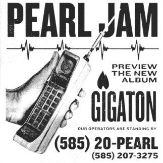 Pearl Jam: ascolta l'anteprima di Gigaton al telefono