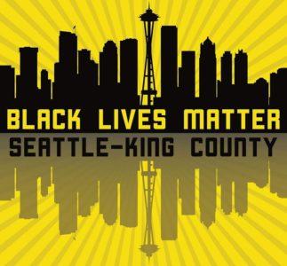 Mike McCready prende parte alla marcia Black Lives Matter di Seattle