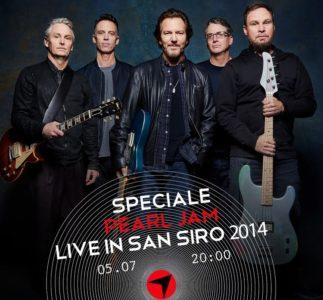 Radiofreccia trasmette il concerto dei Pearl Jam allo Stadio San Siro