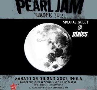 Pearl Jam a Imola, biglietti in prevendita