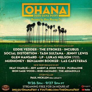 Ohana Fest: l'edizione virtuale con performance d'archivio (e qualcosa in più)