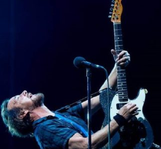 Eddie Vedder talks about Sean Penn's new movie soundtrack and virtual Ohana Fest