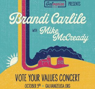 Brandi Carlile & Mike McCready will perform online for Vote Your Values