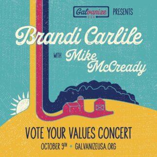 Brandi Carlile e Mike McCready si esibiranno online per Vote Your Values