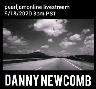 PearlJamOnline Livestream with Danny Newcomb