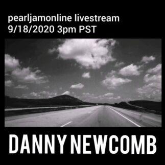 Pearl Jam Online Livestream con Danny Newcomb