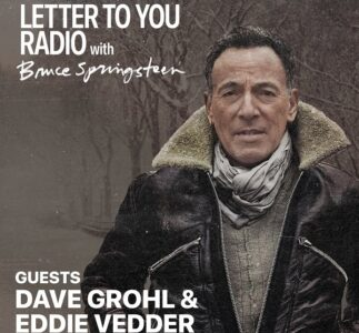 Eddie Vedder will be part of Bruce Springsteen's Letter To You radio special