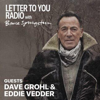 Eddie Vedder prenderà parte a uno special radiofonico dedicato a Letter To You di Bruce Springsteen