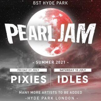 Pearl Jam: riprogrammate le date inglesi con Pixies e IDLES