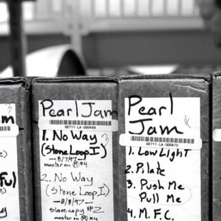 Pearl Jam Recording Sessions