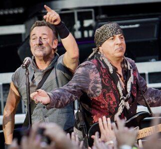 Pearl Jam OnLine Livestream con Steven Van Zandt della E Street Band di Bruce Springsteen