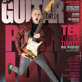 Mike McCready is on the cover of the May 2021 Guitar World
