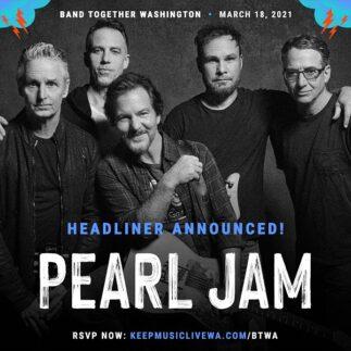 Pearl Jam, filmati di repertorio nel benefit Band Together WA
