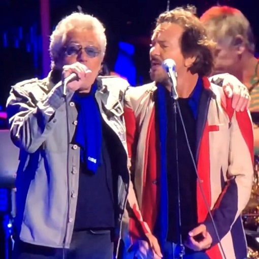 The Who's Roger Daltrey talks about Eddie Vedder