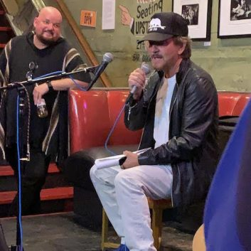 Eddie Vedder stopped at Easy Street Records to introduce Alain Johannes
