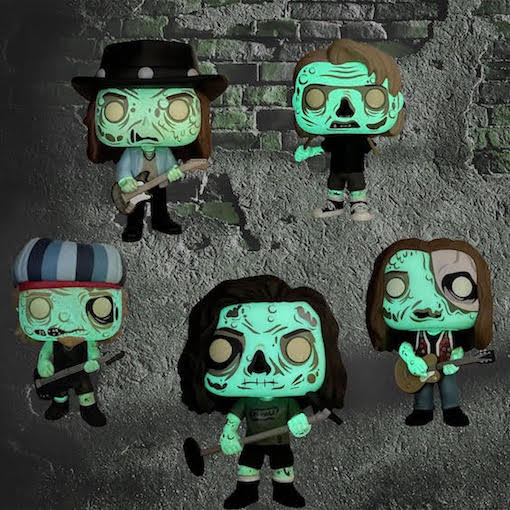 Pearl Jam Zombie Funko Pop & Alive Halloween t-shirt